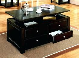 black coffee table with drawers end tables solid wood lift top table furniture end with storage
