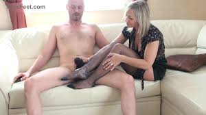 Cfnm foot job movie