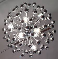 sputnik chandelier vintage chrome designs