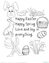 Free Printable Easter Coloring Pages For Kids With Medquit Free
