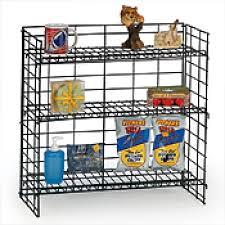3 shelf fold up countertop display 24