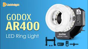 Godox Ring 48 Macro Ring Light Godox Ar400 High Power Macro Led Ring Light Flash Operation Video Www Linkdelight Com