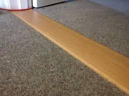 carpet joining strip. image of: carpet to laminate threshold door joining strip