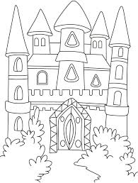 She got married to the prince and started living with him in his castle. A Magical Castle In The Forest Coloring Pages Download Free A Castle Coloring Page Forest Coloring Pages Princess Coloring Pages