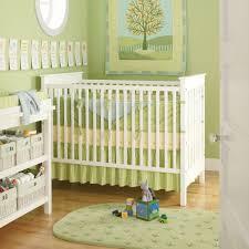... Interesting Interior Design With Green Interior Wall Paint : Killer  Green Baby Nursery Room Design Using ...
