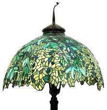 tiffany style floor lamp shade replacement best reions images on stained lamps