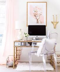 designsbyceres on instagram happy monday gorgeous homeoffice of the beautiful and bathroomlovely lucite desk chair vintage office clear