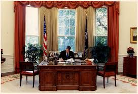 oval office rug. Reagan With His New Rug In Place. Very Pretty. 1982, Had The Linoleum Removed And Wood Floor Put Down, Using Same Contractors Who Oval Office R