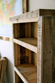 Shelves Made From Pallets Bookcases Made From Pallets Example Yvotubecom