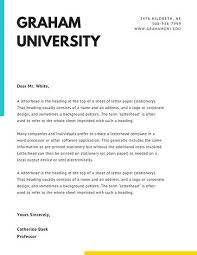 Cover Letter Canva Template Free Online Letterhead Maker With
