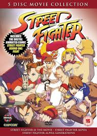 street fighter five disc movie collection news anime uk anime