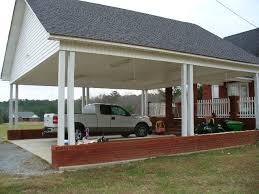 detached garage with carport front detached carport with