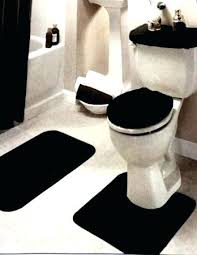 red black and white bathroom rugs round bath sets set furniture exciting
