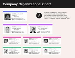 Organizational Chart Templates Venngage