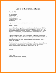Sample Recommendation Letter For Employment Sample Recommendation Letter For Job Pdf Lettersonline Co
