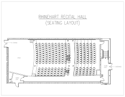 Sweetwater Performance Pavilion Seating Chart Special Events Rhinehart Recital Hall Purdue University