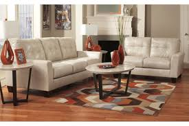 2 pc living room set. paulie durablend - taupe 2 pc living room set shown w/ ranett occasional tables s