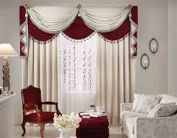 Sew Cafe Curtains  Traditional Living Room By BROWN DAVIS Traditional Living Room Curtains
