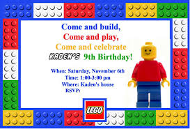 Legos For Free Homemaking Fun A Lego Themed Birthday Party