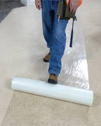 carpet protector film. carpet cover by americover® protector film