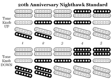 gibson nighthawk pickup selection map for gibson 20th anniversary nighthawk standard