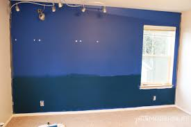 awesome tips to be creative and make this fun ombre accent wall petite modern