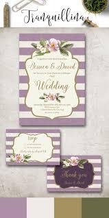 best 25 lilac wedding invitation sets ideas on pinterest purple Cadbury Purple Wedding Invitations Online lilac wedding invitation printable, purple wedding invitation suite, digital file gold & lilac Black and Purple Wedding Invitations