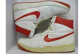 nike 80s shoes. red yellow nike 80s shoes