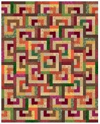 511 best Log Cabin Quilts images on Pinterest | Beautiful, Blouses ... & Quarter Log Cabin Quilt by Liz Katsuro. Free PDF pattern. Sized for baby, Adamdwight.com