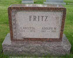 Lora Rosetta Rundorff Fritz (1872-1944) - Find A Grave Memorial