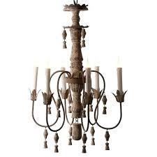 aidan gray lighting chandelier white