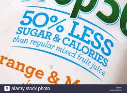 50 less sugar calories than regular mixed fruit juice information on label of