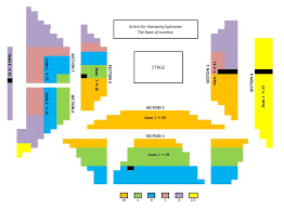 Laredo Civic Center Seating Chart Seat Numbers Flow Charts