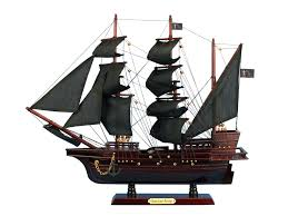wooden toy pirate ship queen revenge model childs