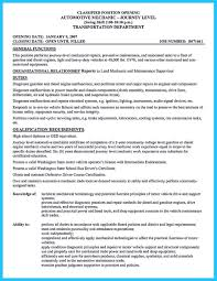Auto Mechanic Resume Examples Car Picture Resume Sample And