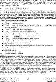 Gdot Org Chart Request For Qualifications To Design Construct And