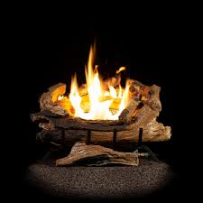 vent free natural gas fireplace logs