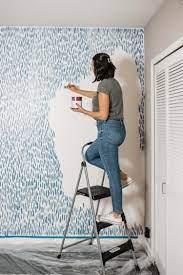 DIY Brushstroke Accent Wall Tutorial ...