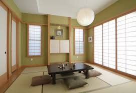 Traditional Japanese asian-living-room
