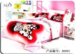 minnie bedding set mouse double duvet set mouse full size bedding set bedroom double red bed