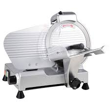 10 blade 240w 530rpm electric commercial meat slicer deli food cheese veggies 0