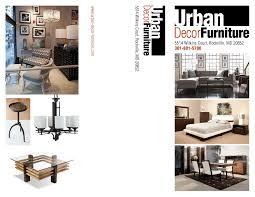 urban decor furniture. UDF-Brochure Urban Decor Furniture