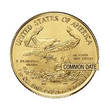 1 10 Oz American Gold Eagle Coin Common Date