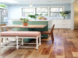 table for kitchen: small kitchen table with benches small kitchen remodeling ideas