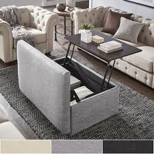 landen lift top upholstered