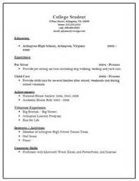 resume templates for college entrance sample college admissions resume for a student resume college admissions resume samples