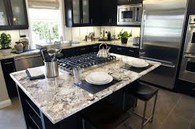 white granite kitchen