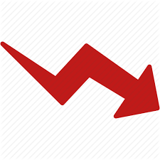 Down Arrow Chart Toolbar Signs 3 By Aha Soft