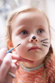 and most little children just love face paint