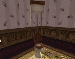Pull Chain Toilet Enchanting Second Life Marketplace Cream Victorian Pull Chain Toilet Style 60